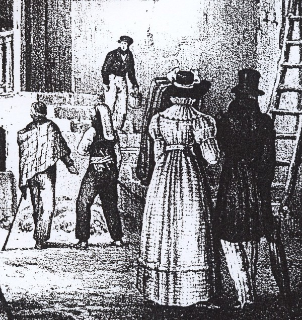 Costumes roussillonnais en 1829.