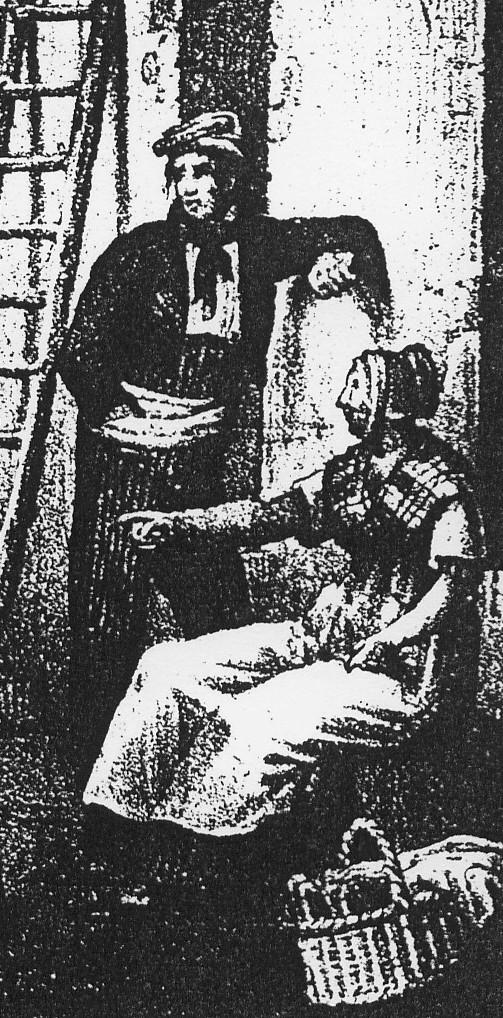 Dessiné par le Chevalier de Basterot et gravé par Alphonse Bayot