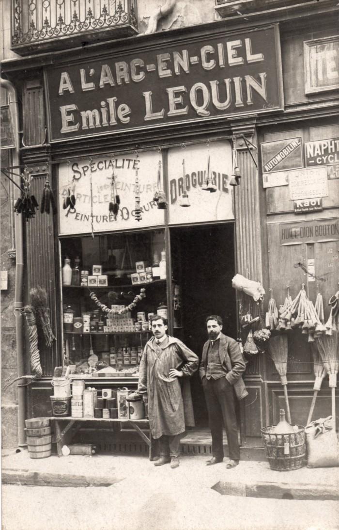 Boutique l'Arc en Ciel, Perpignan.