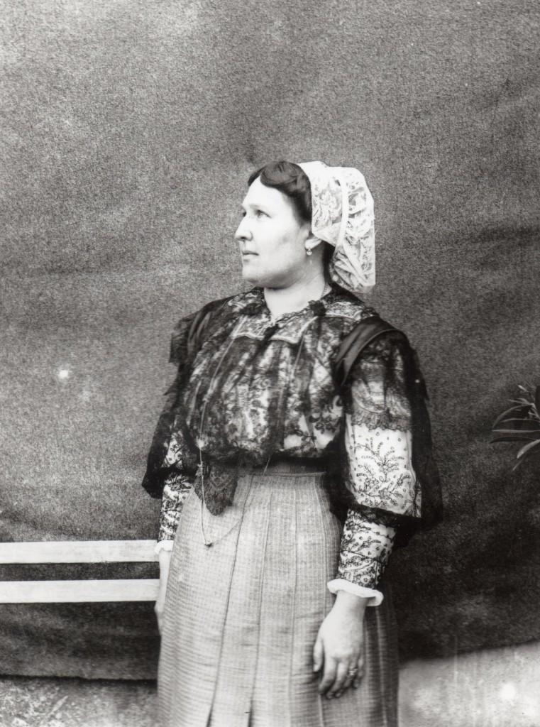Catalane, Roussillon, 1900.