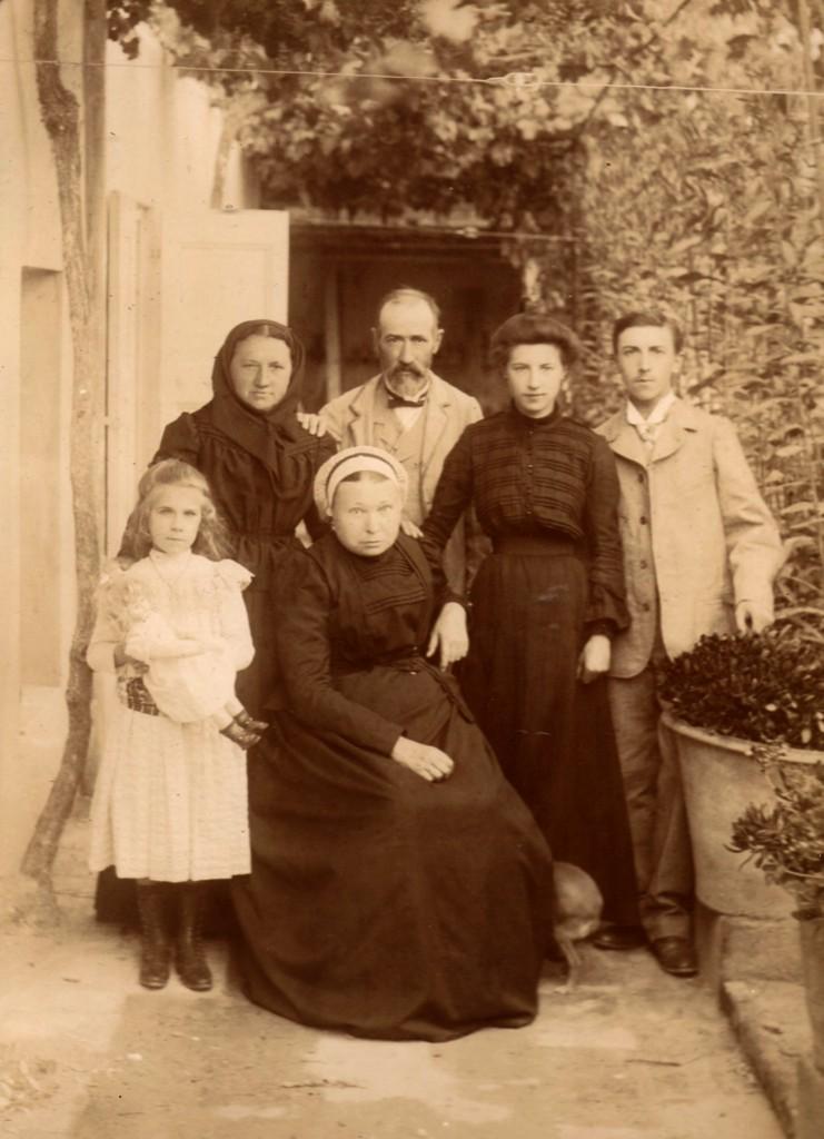 Roussillon en 1901.