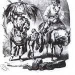 Retour des champs, Bayot, Perpignan, 1833.