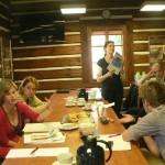 participants européens au séminaire sur la restauration de l'orfèvrerie et des bijoux
