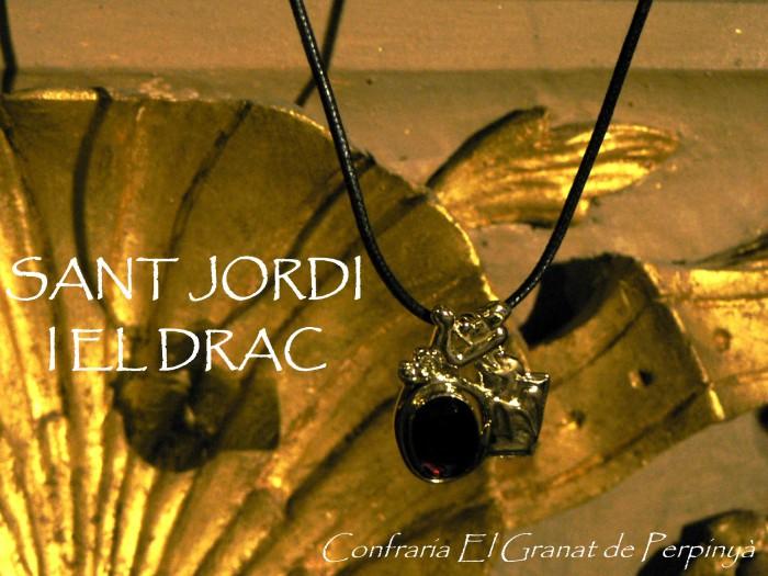 Pendentif Sant Jordi, Le Grenat de Perpignan