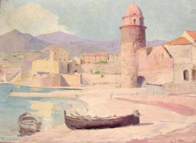 Collioure par Louis DELFAU.