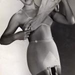 photo de la Gaine Chiquita pour publicité, 1954.