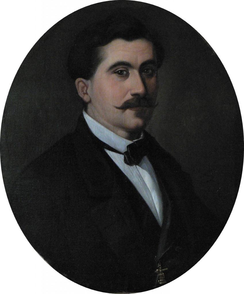 Urbain Viguier, portrait de François Jobe.