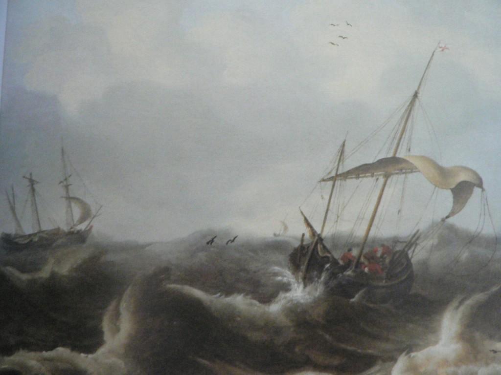 Jean Porcellis (1584-1632), deux voiliers dans la tempête, Artcurial, vente du 13 décembre 2010 à Paris.