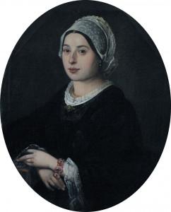 Portrait de Marie Jobe par Urbain Viguier, 1860.