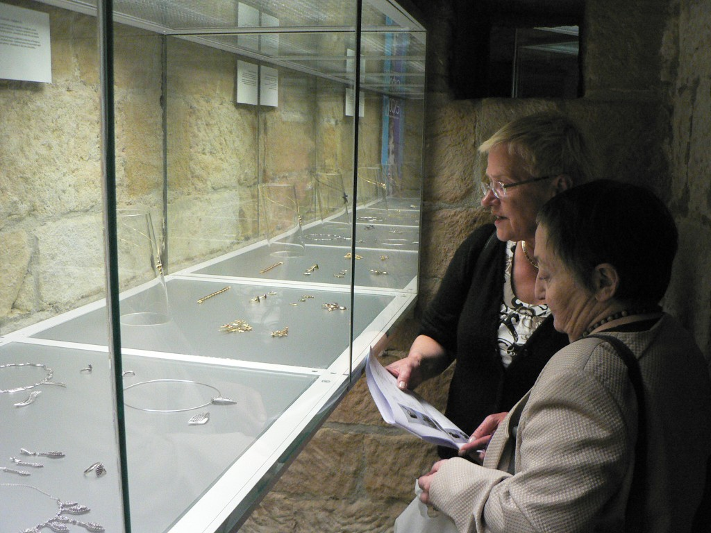 bijoux en Grenat de Perpignan exposés à Turnov