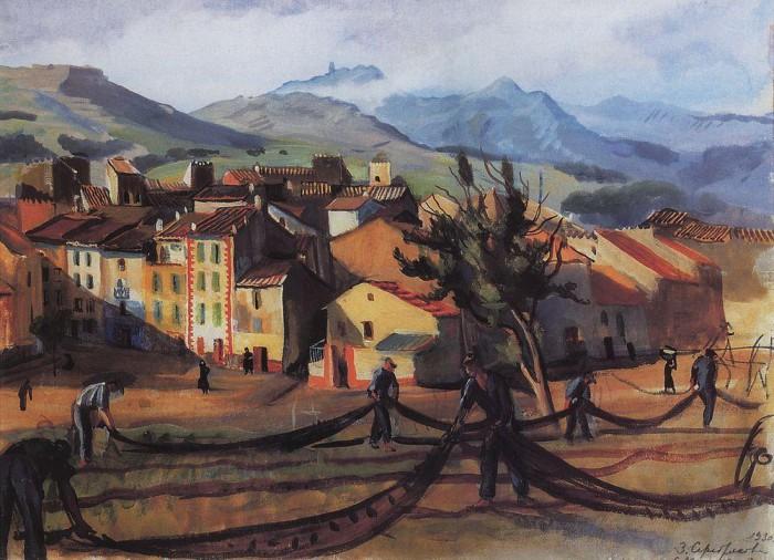 Banyuls-1930-Zinaida Serebriakova
