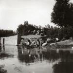 Lavandières à Paulilles, 1900.