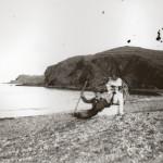 Couple au bord de la mer, Cote Vermeille, 1900.