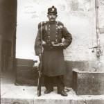 Soldat, Perpignan, 1900.