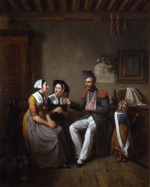 JACOMIN Jean-Marie Militaire blessé racontant ses campagnes