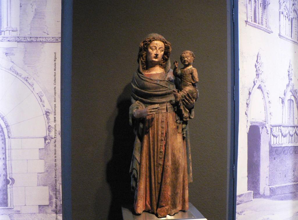 la Mare de Deu pixosa, Musée Rigaud, Perpignan.