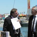 Présence du maire de Perpignan, Mr Jean-Marc PUJOL.
