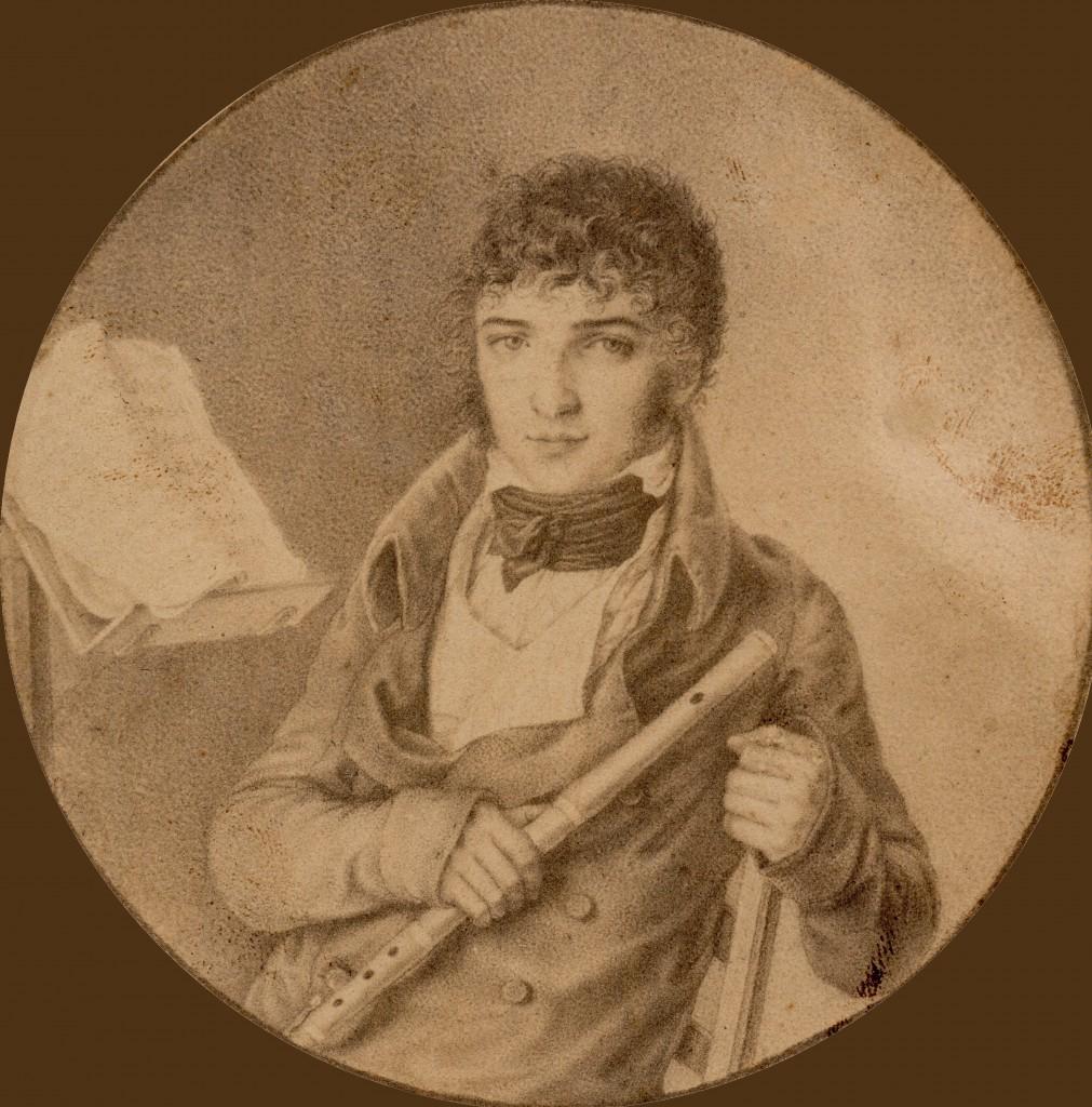 Musicien sous Louis Philippe, France, Perpignan.