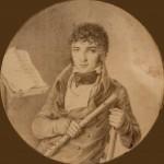 Musicien flûtiste sous Le Directoire, France, Perpignan.