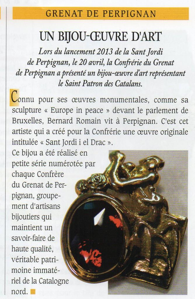 Un Bijou signé Bernard ROMAIN.