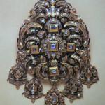 pendentif en or et diamants, XVIIe s.