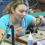 Ecole de Turnov, bijouterie, soudure.