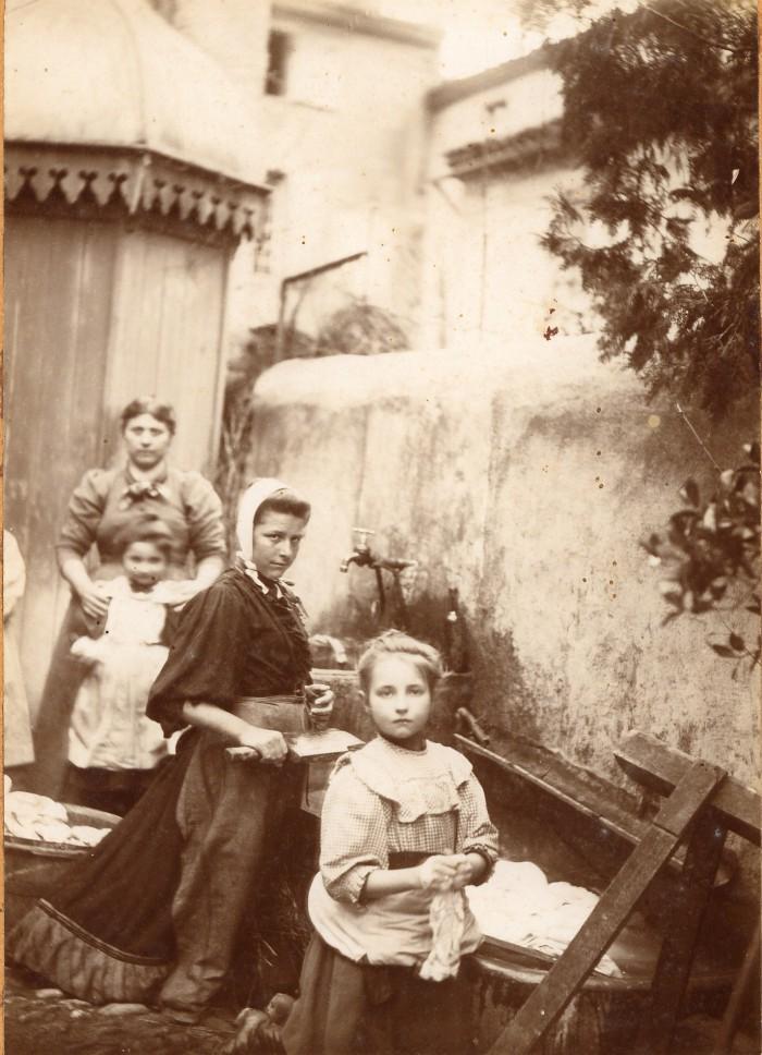 La ruscado (la lessive), Jolieu photo, lavelanet.