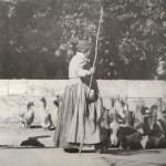 Lavelanet, gardienne d'oies, Jolieu photo