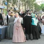Le marché aux textiles anciens