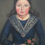 costume d'enfant vers 1850.