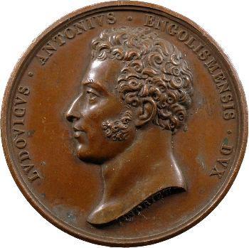 Médaille à l'effigie du duc d'Angoulême.