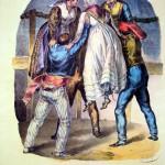 danses catalanes en 1830, la pleine apogée du costume traditionel catalan