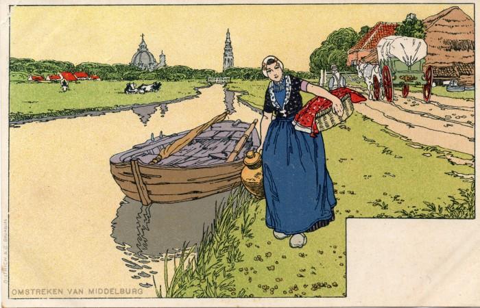 Omstreken van Middelburg