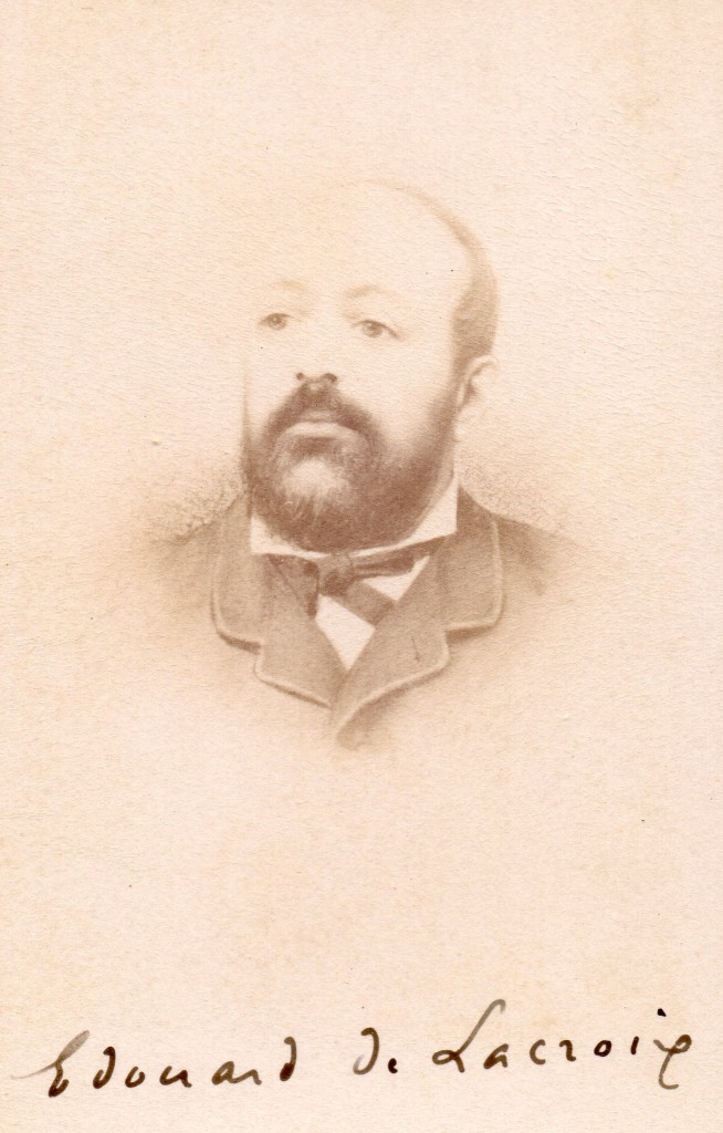 Edouard de Lacroix
