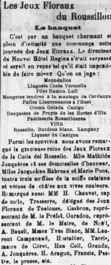 Le Roussillon 1924 30 06
