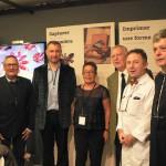 En présence de Mr Guy Bessodes (Comité Francéclat) et de Pierre-Marie Bernard (école HBJO)