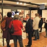 nombreux visiteurs sur le stand du Grenat de Perpignan