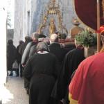 Procession des reliquaires et de la cadireta de la Vierge.