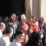 Le maire Nicolas GARCIA et l'évêque de perpignan