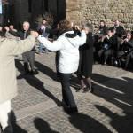 Sardanes en sortie de messe