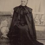 Ferrotype , portrait de femme âgée.