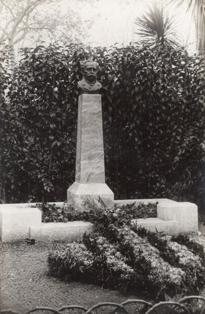 Bust d'Albert Saisset realitzat per Han Coll