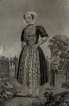 Arlésienne gravée en 1787