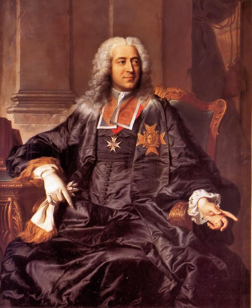 H.Rigaud, Portrait du Comte d'Argenson.