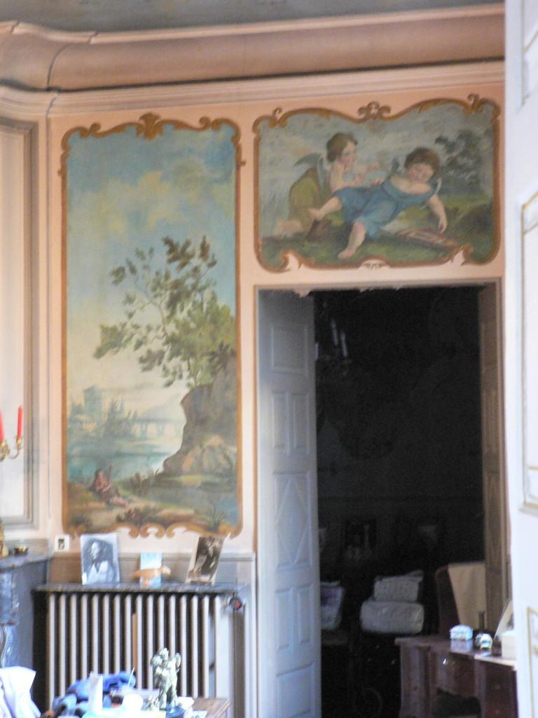 Décors peints dans l'Hôtel de Lazerme