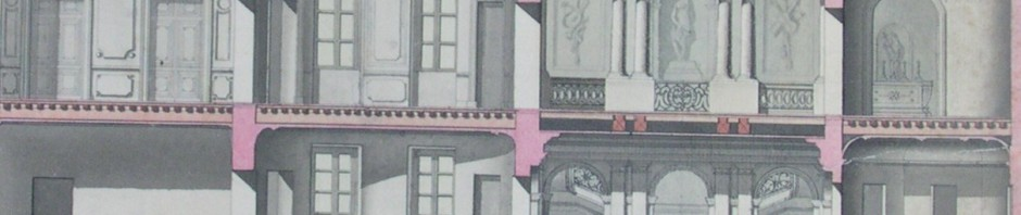 hotel d'Oms, detail de l'intérieur.