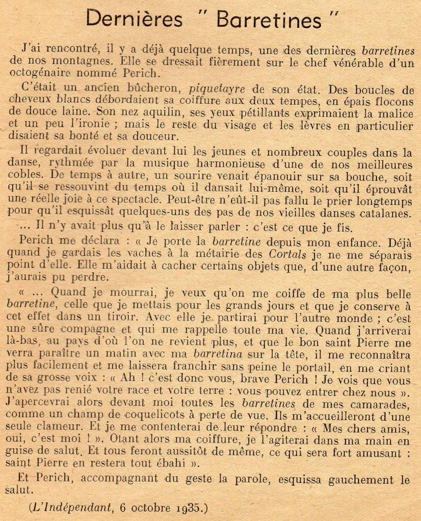 Revue Tramontane 1950.