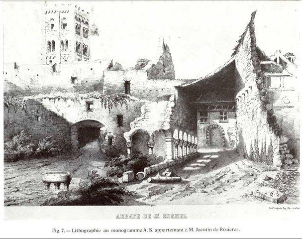 Ruines de Saint Michel de Cuixà