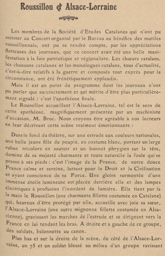 La Guerre de 14-18 à Perpignan.