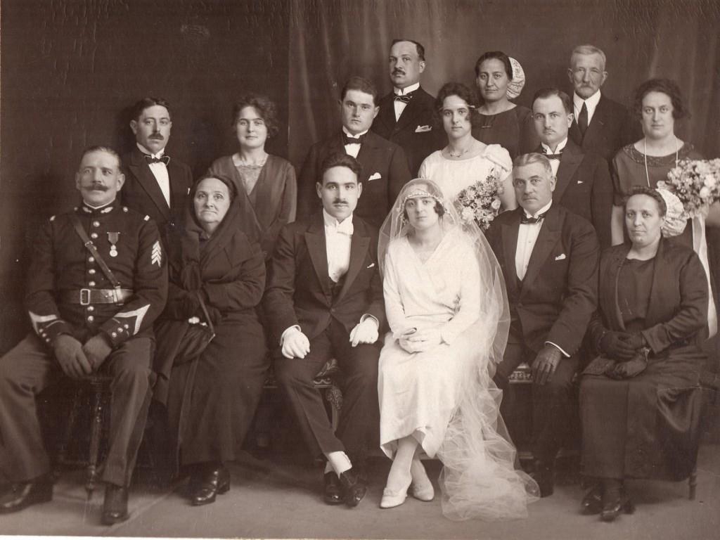 Photo de mariage perpignan vers 1920 institut du grenat - Photo de mariage ...